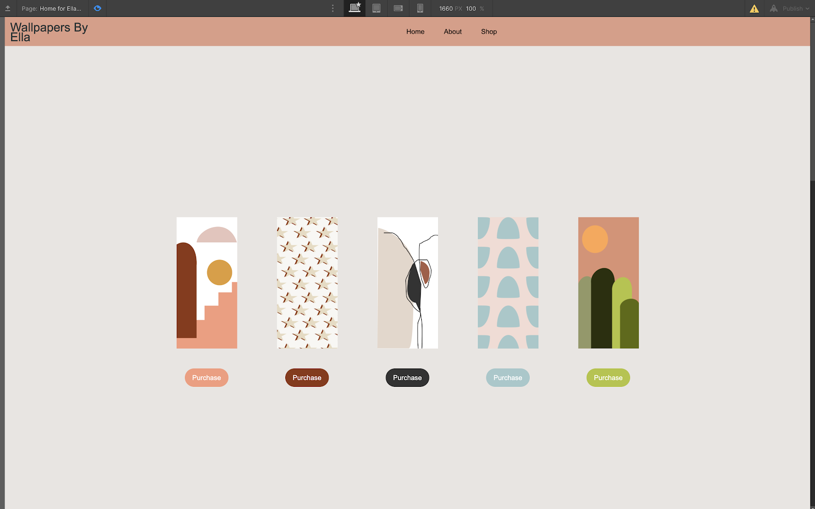 iphone wallpaper business