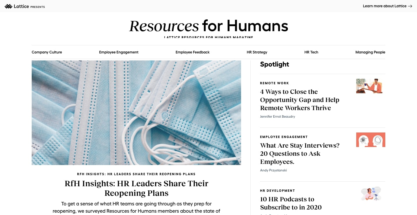 lattice blog resources for humans