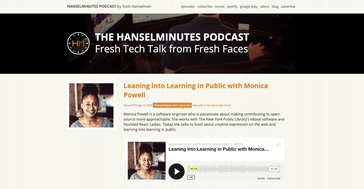 hanselminutes podcast
