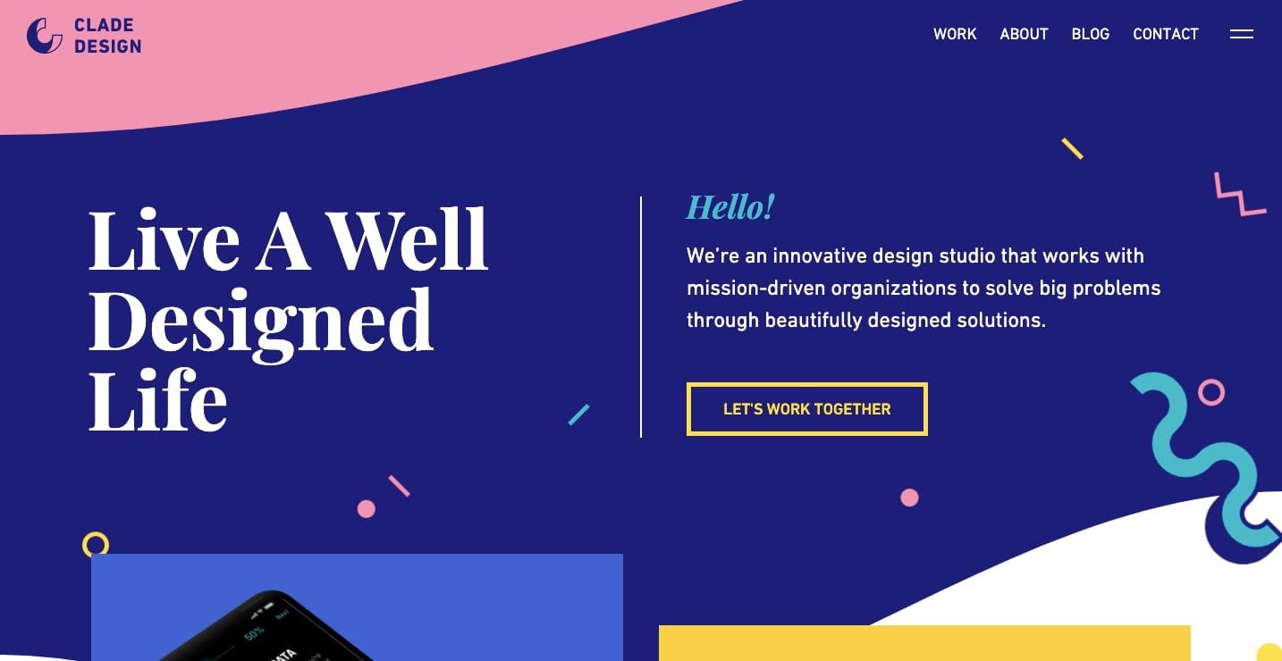 clade design website