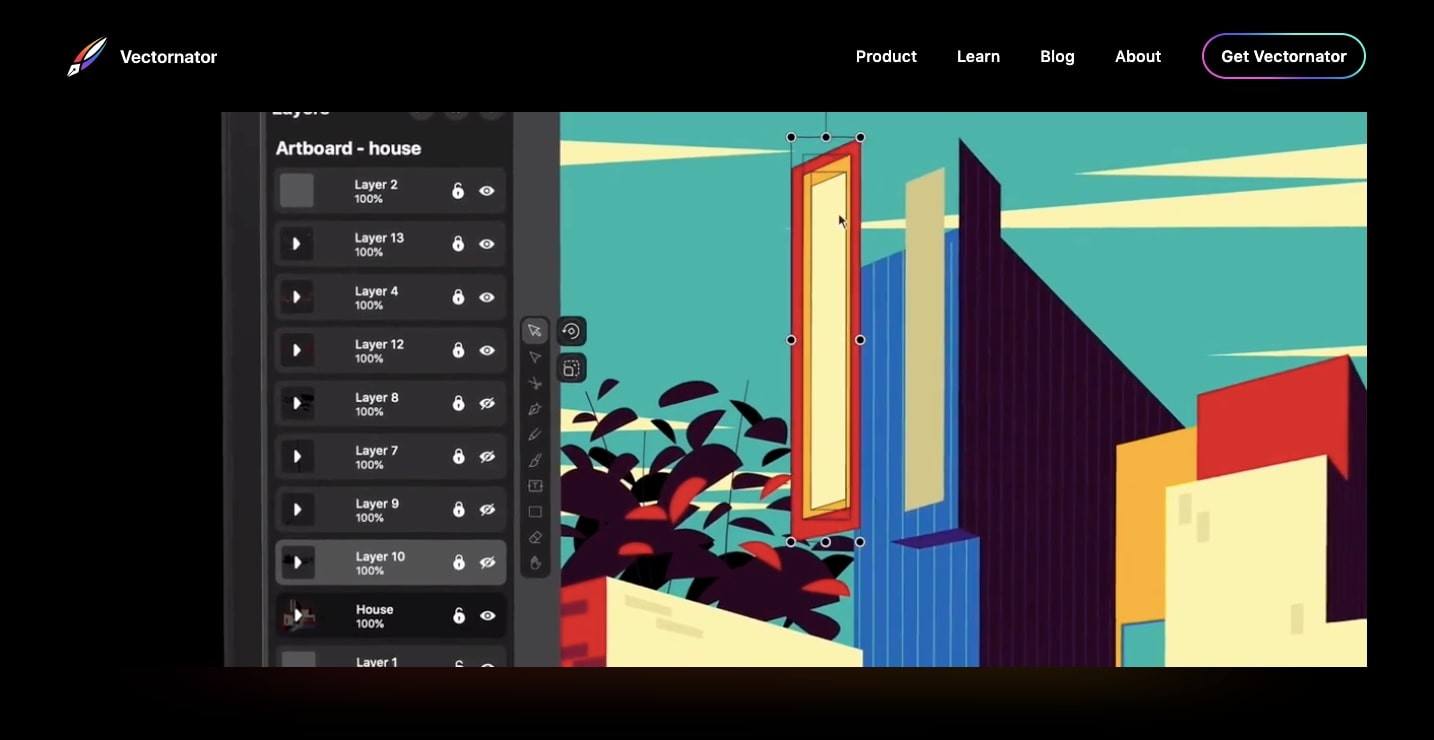 vectornator website