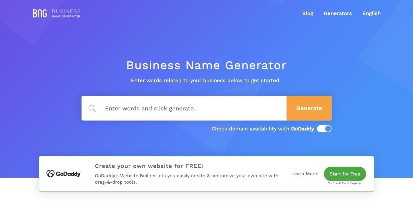 business name idea generator