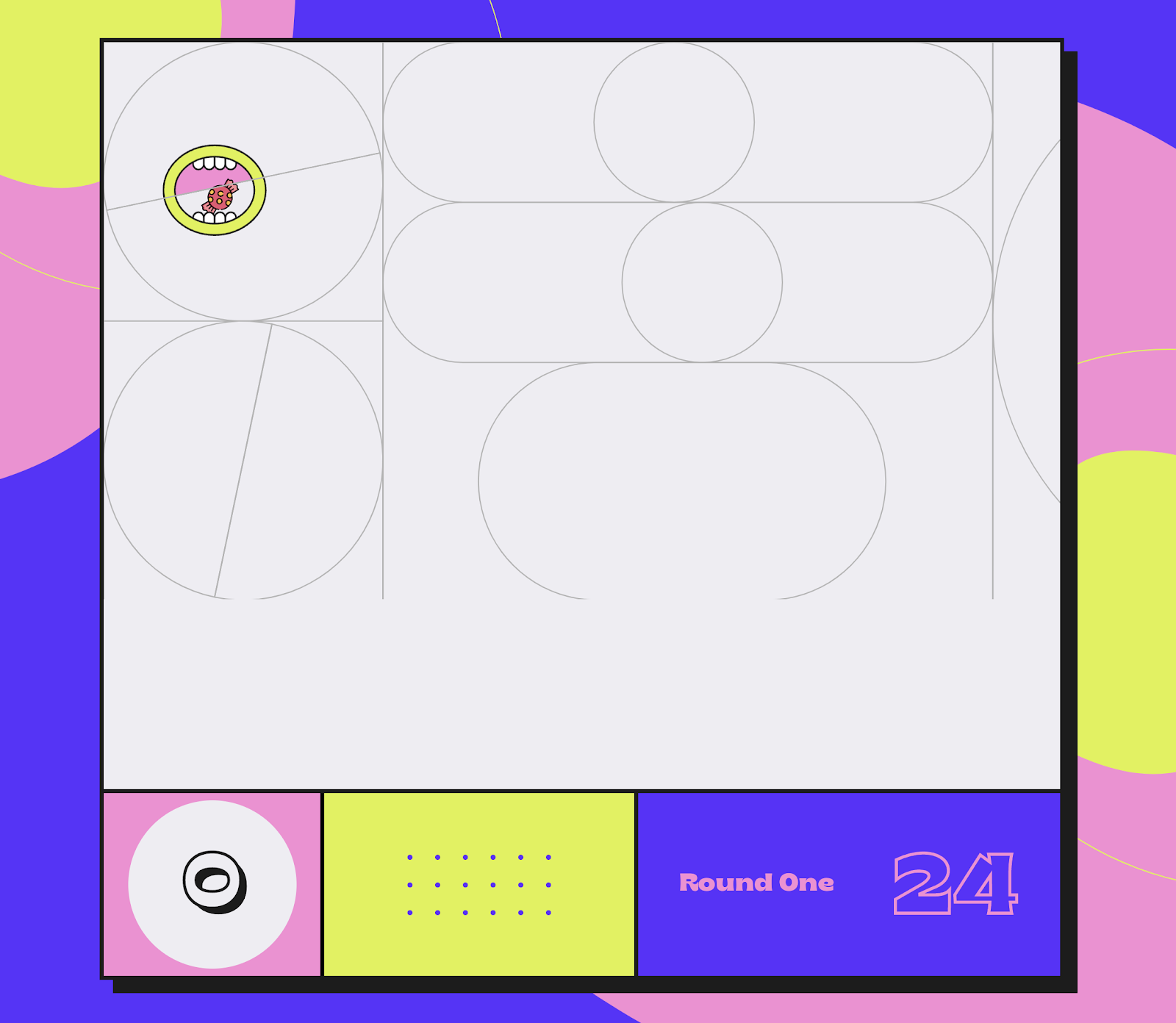 Screenshot from the Tricks Game project.