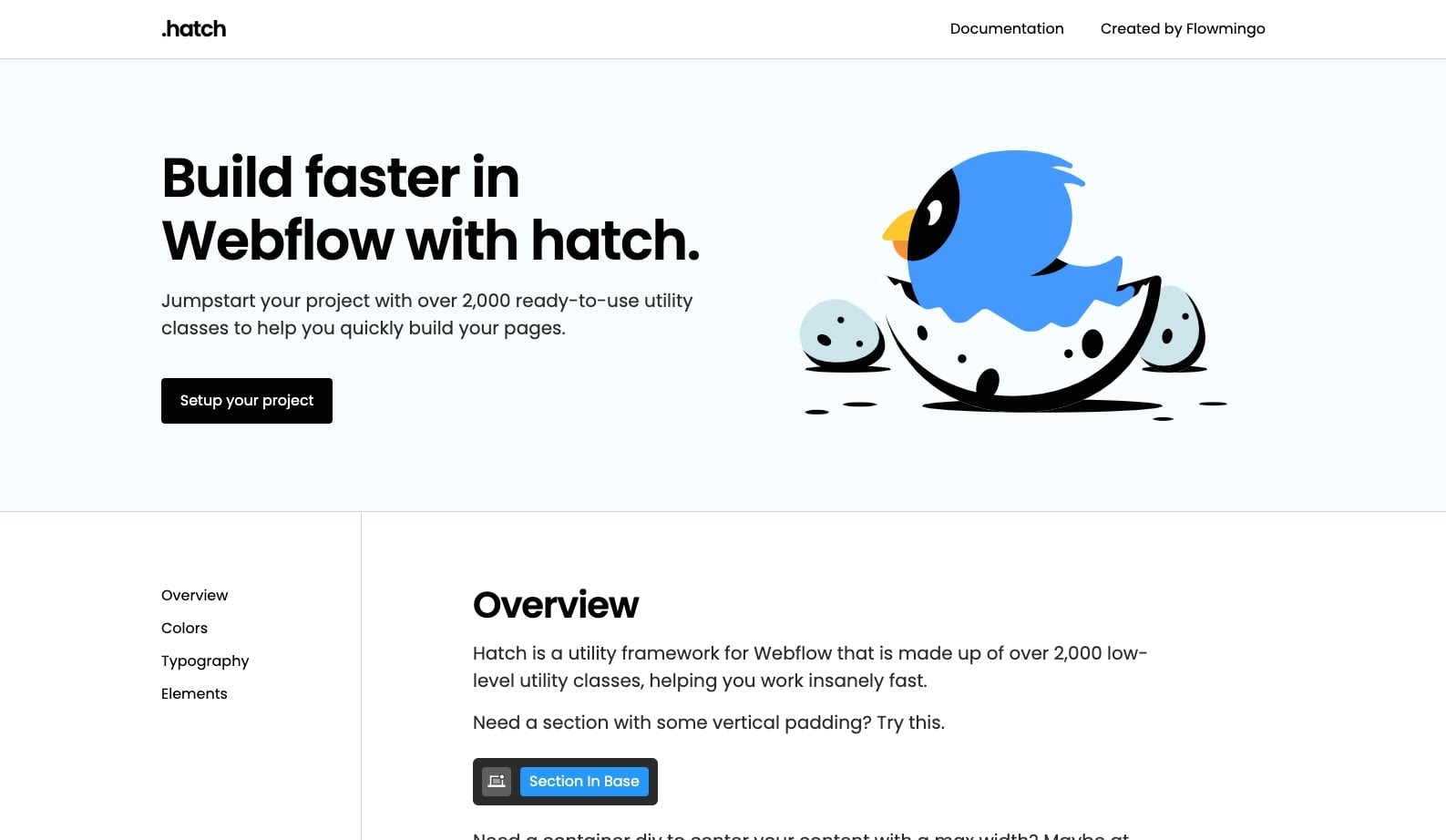 hatch webflow cloneable