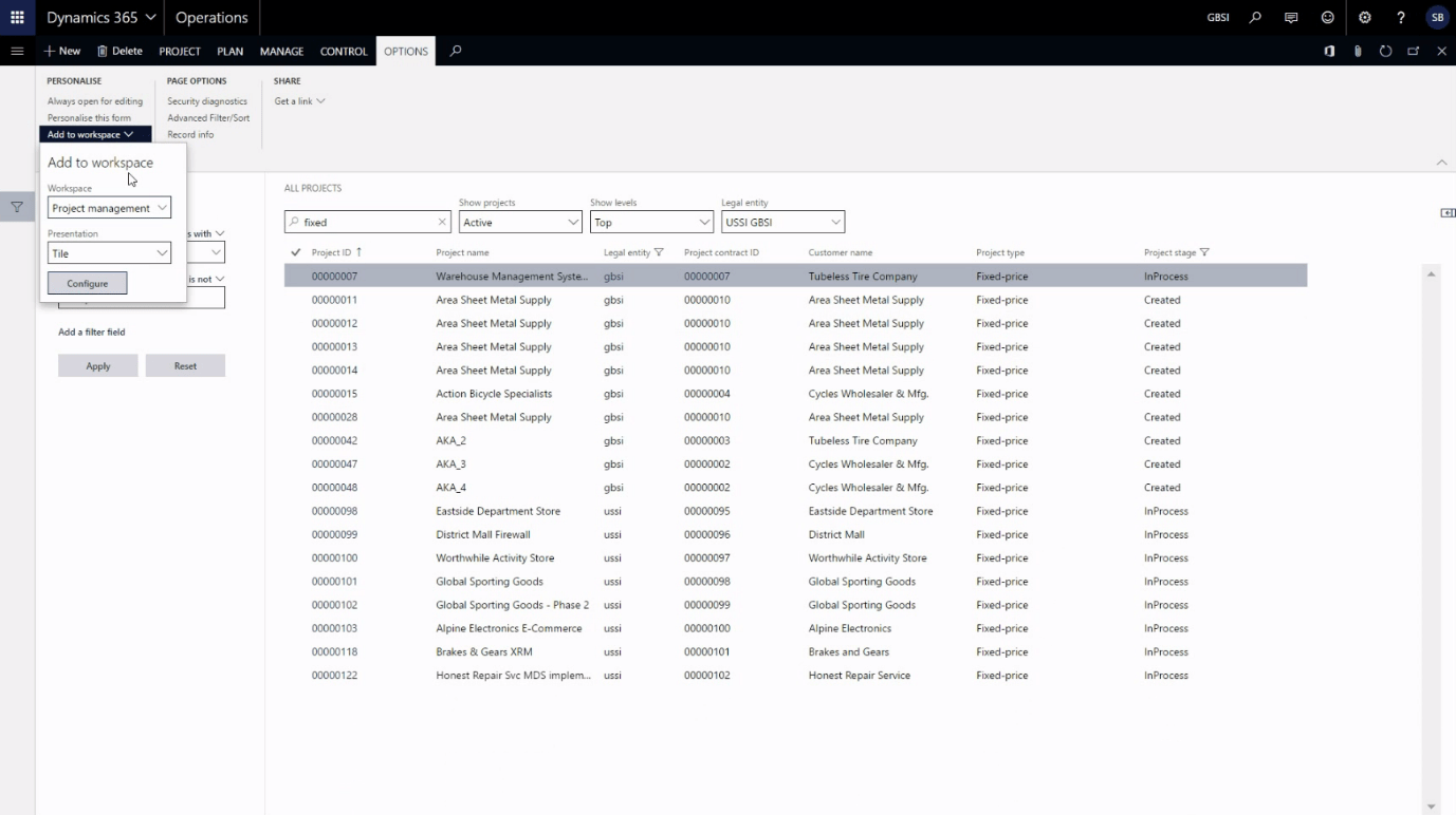 Dynamics 365 for Operations – 15 UI tips and tricks