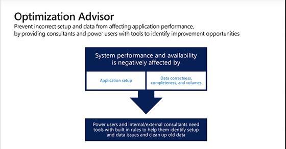 Dynamics 365 introduces new Optimisation advisor