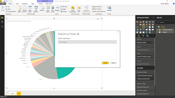 7 Steps to get started with Power BI Desktop and Dynamics 365