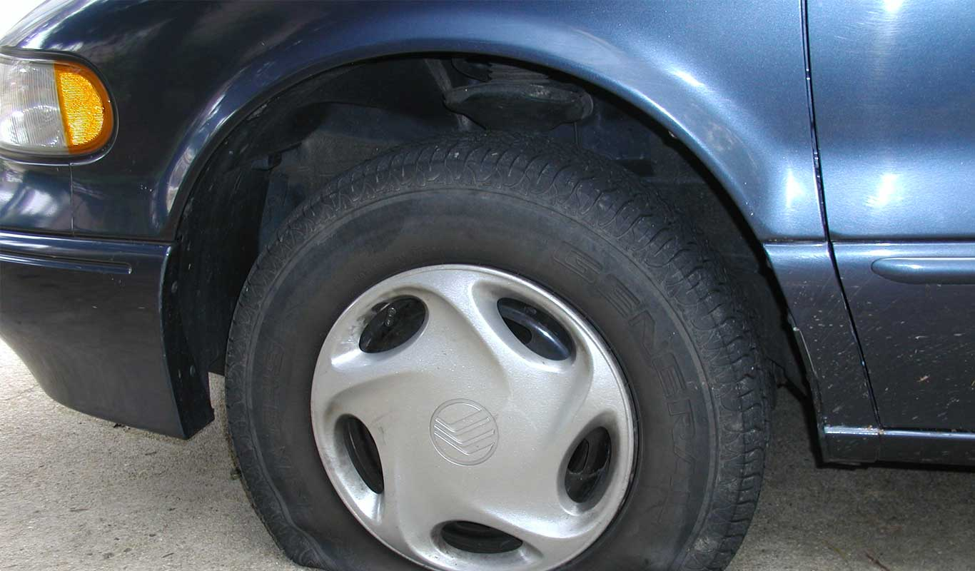 who can fix a flat tire near me