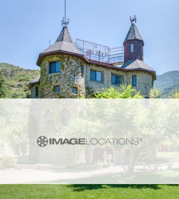 A premium location castle in Los Angeles California.