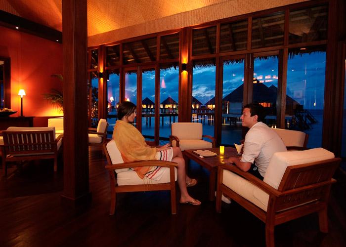 Adaaran Prestige Water Villas ristorante