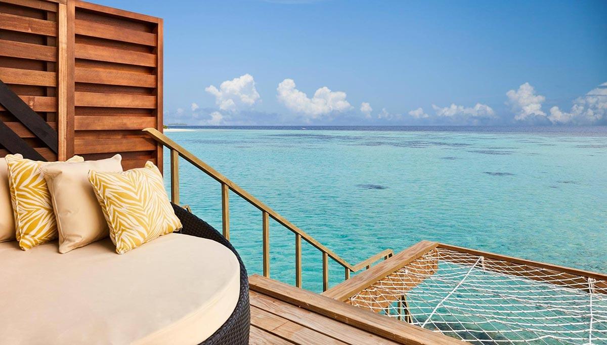 Amari Havodda resort maldive overwater villa