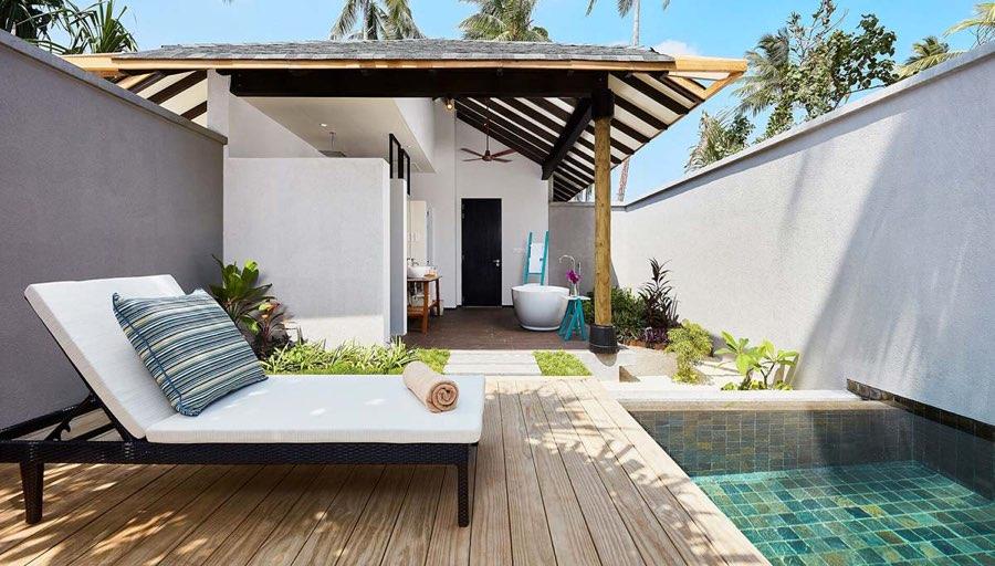 Amari Havodda resort maldive beach garden pool villa