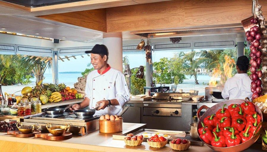 Amari Havodda resort maldive ristorante Amaya