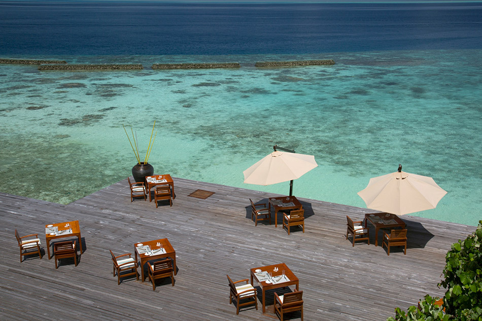 Coco Palm Bodu Hithi resort Maldive ristorante Air