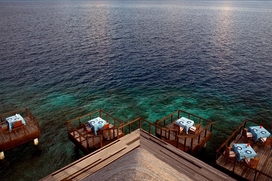 Coco Palm Bodu Hithi resort Maldive ristorante Aqua