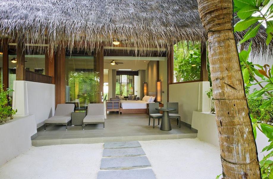 Migliori Resort Maldive Conrad Maldives beach villa