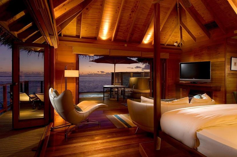 Migliori Resort Maldive Conrad Maldives deluxe water villa