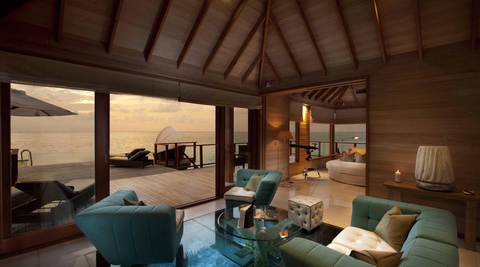 Migliori Resort Maldive Conrad Maldives sunset water villa