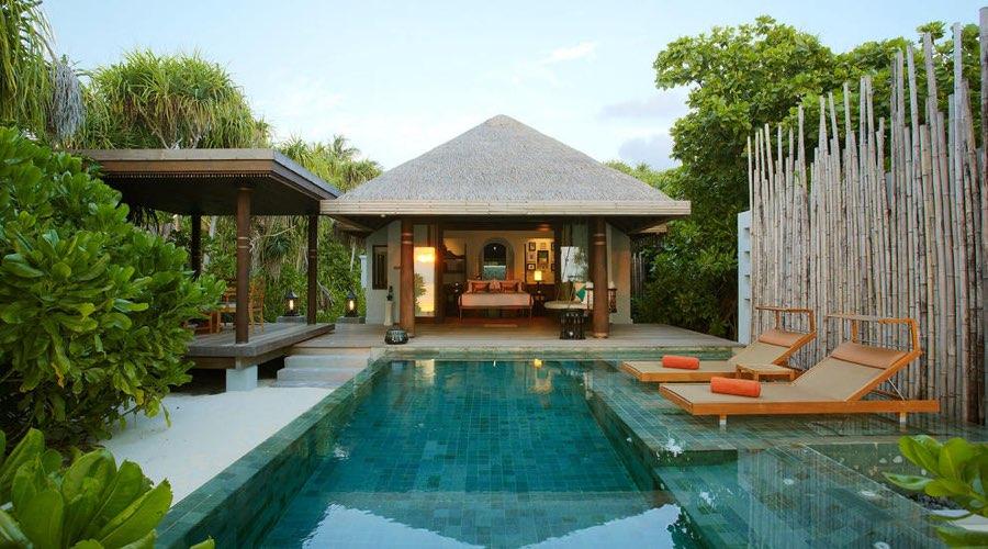 Anantara Kihavah Villas resort Maldive pool villa