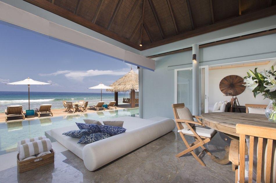 Anantara Naladhu resort Maldive 2 bedroom pool residence