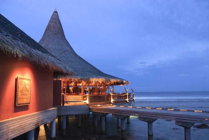 Anantara Veli Resort Maldive ristorante Baan Huraa cucina thailandese