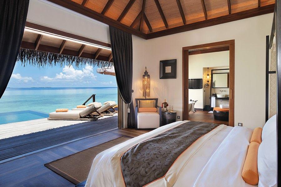 Ayada Maldives resort Maldive sunset ocean suite