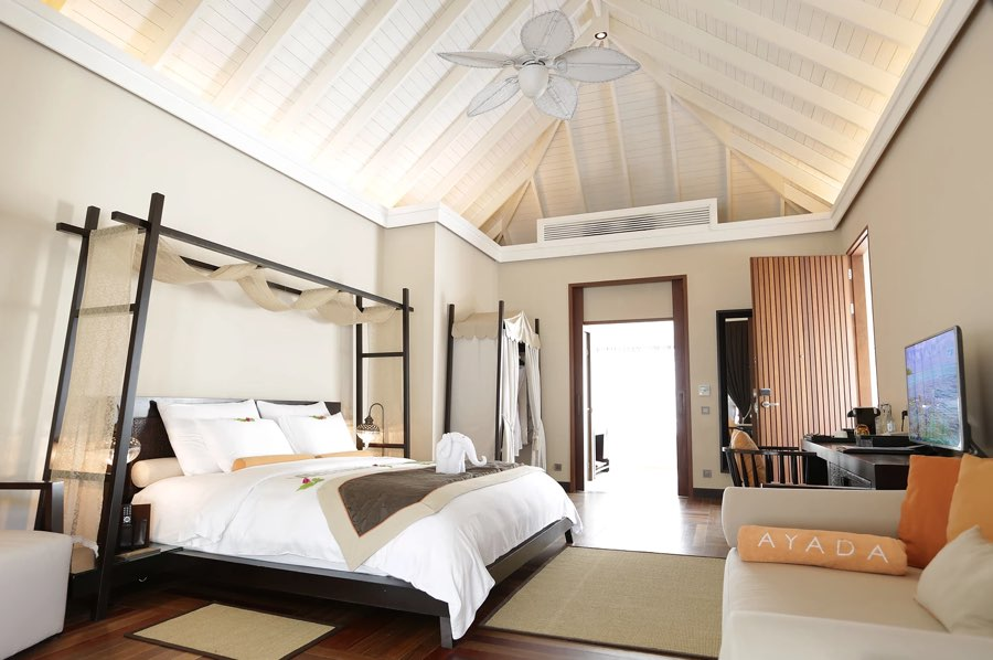 Ayada Maldives resort Maldive island villa