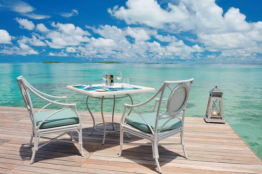 Ayada Maldives resort Maldive ristorante Ocean Breese cucina europea