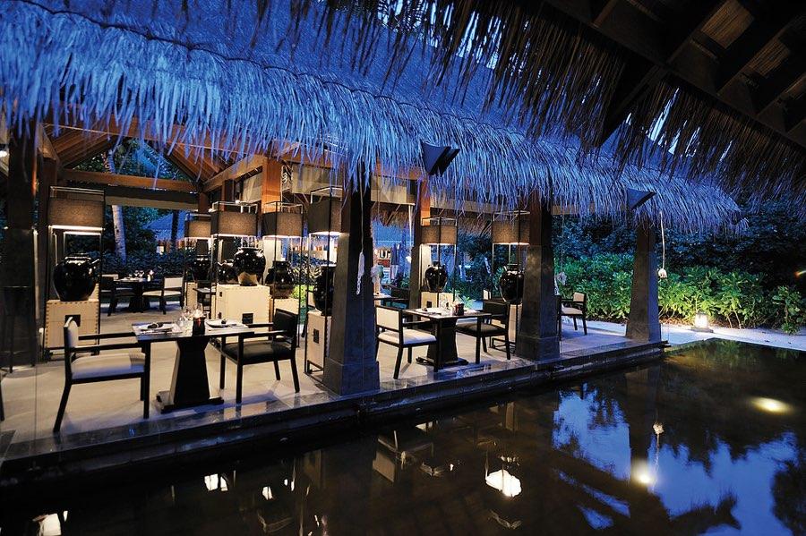 Ayada Maldives resort Maldive ristoarnte Kai cucina asiatica
