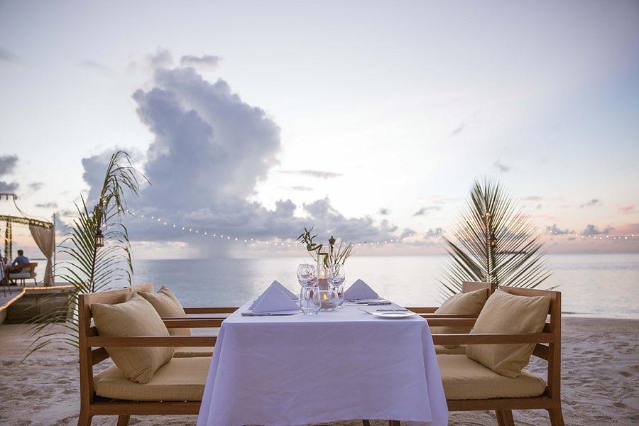 Ayada Maldives resort Maldive ristoarnte Sea Salt