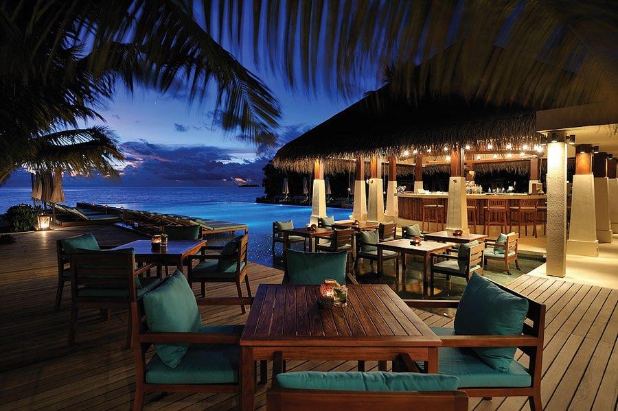 Ayada Maldives resort Maldive ristorante Zero Degree cucina internazionale