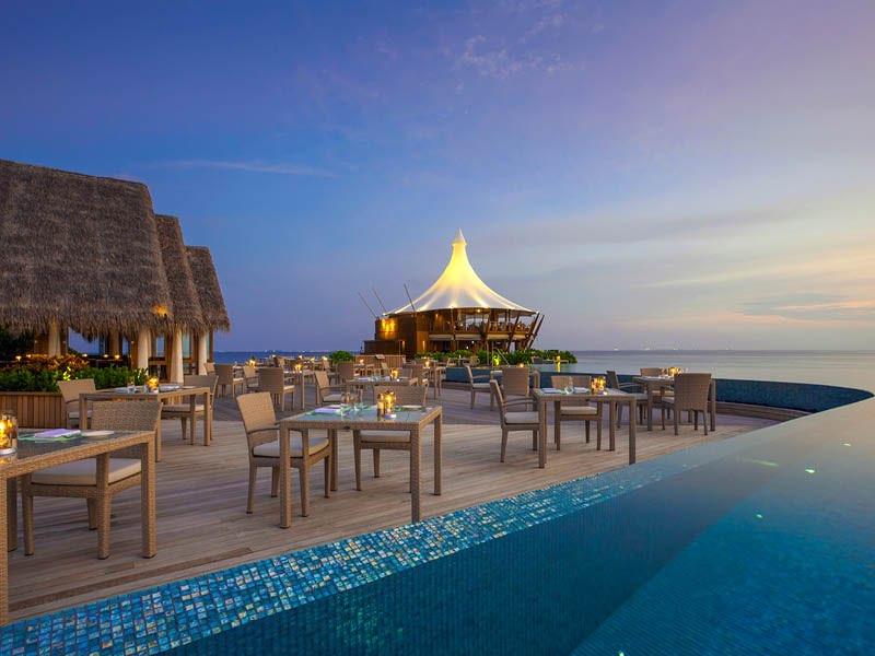 Baros resort Maldive ristorante Lime