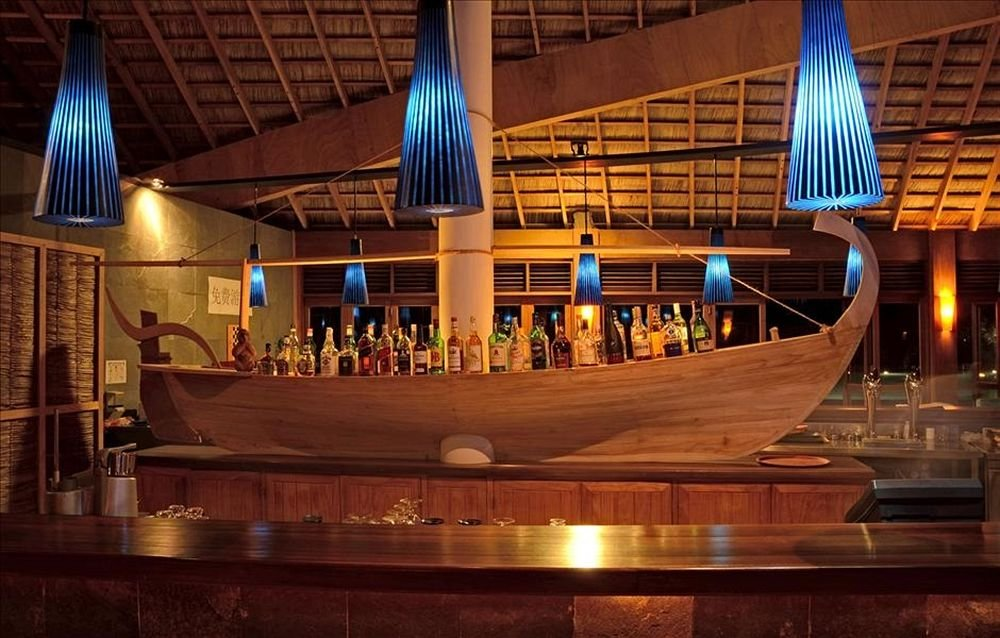 Canareef Island Resort Maldive ristorante Dhoni