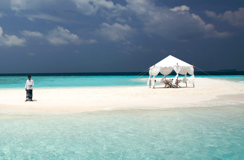 Baros resort Maldive sandbank experience