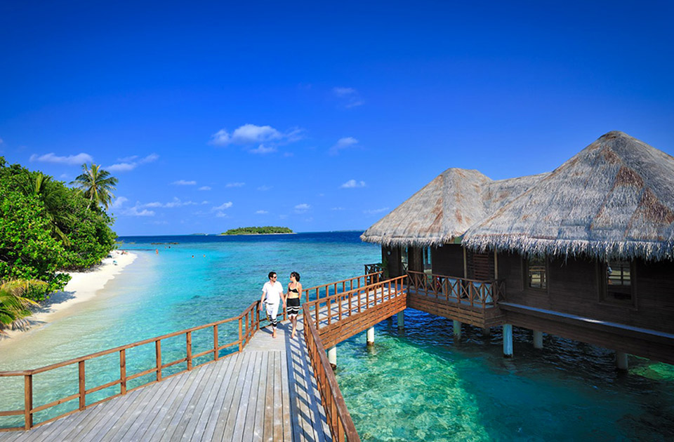 Bandos Maldives resort Maldive water villa