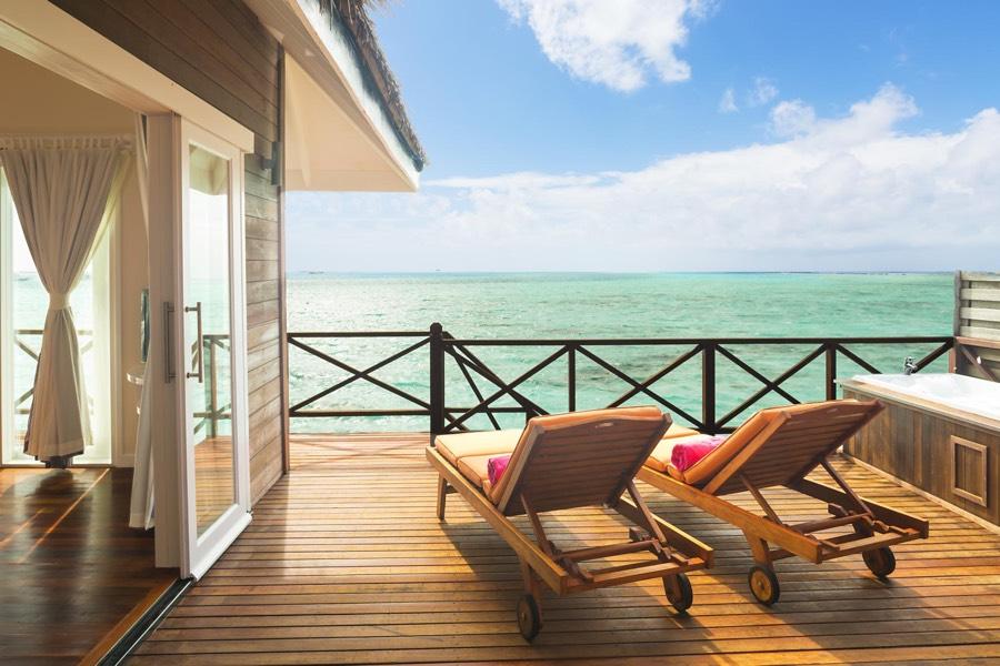 Resort Maldive Sun Aqua Vilu Reef reef villa