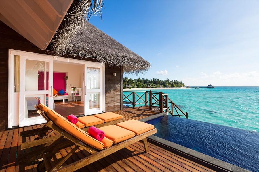 Resort Maldive Sun Aqua Vilu Reef aqua villa