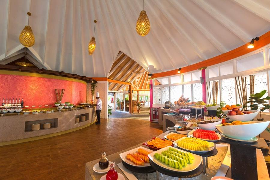 Resort Maldive Sun Aqua Vilu Reef ristorante the Aqua