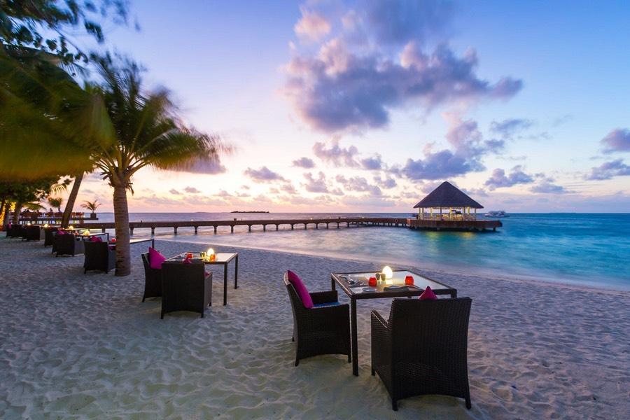Resort Maldive Sun Aqua Vilu Reef ristorante the well done