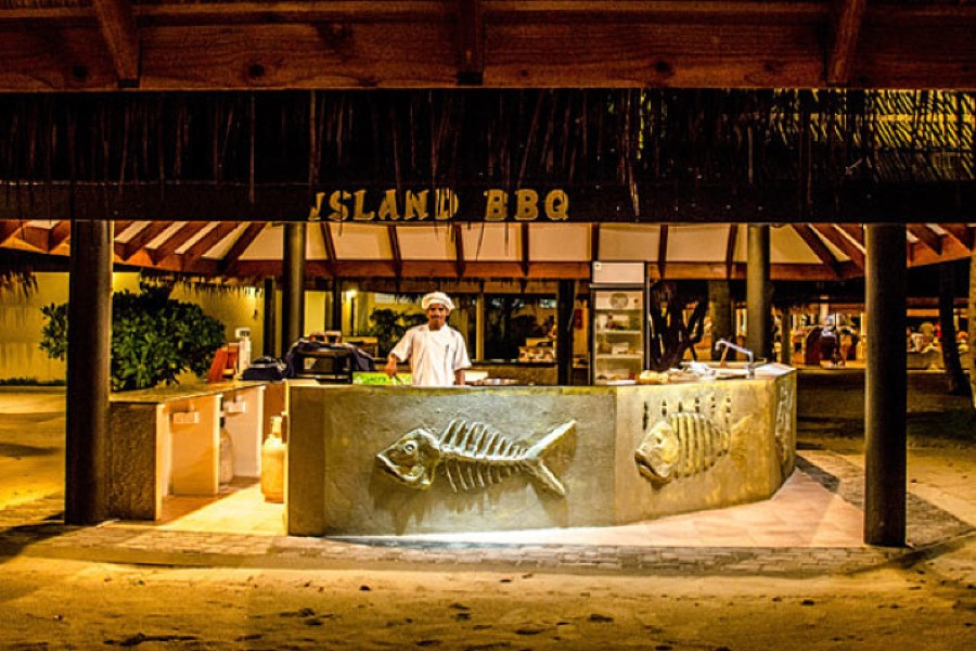 Resort Maldive Sun Island Resort ristorante Island Bbq
