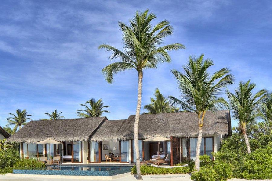 Resort Maldive The Residence beach pool villa