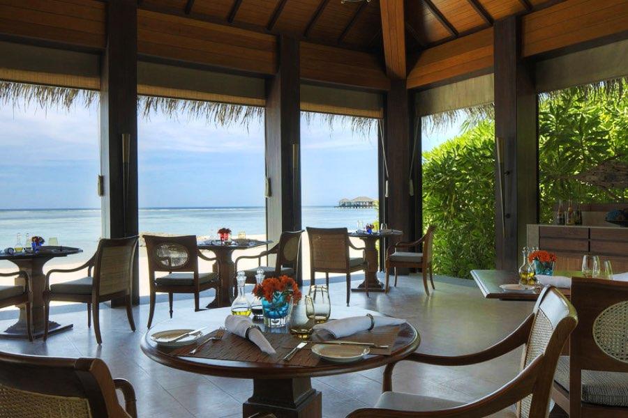 Resort Maldive The Residence Maldives ristorante
