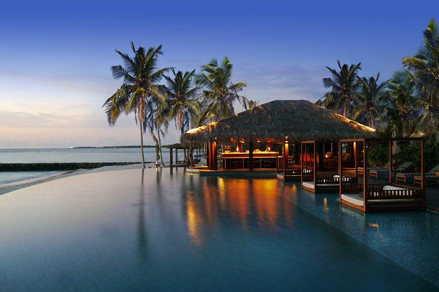 Resort Maldive The Residence Maldives bar