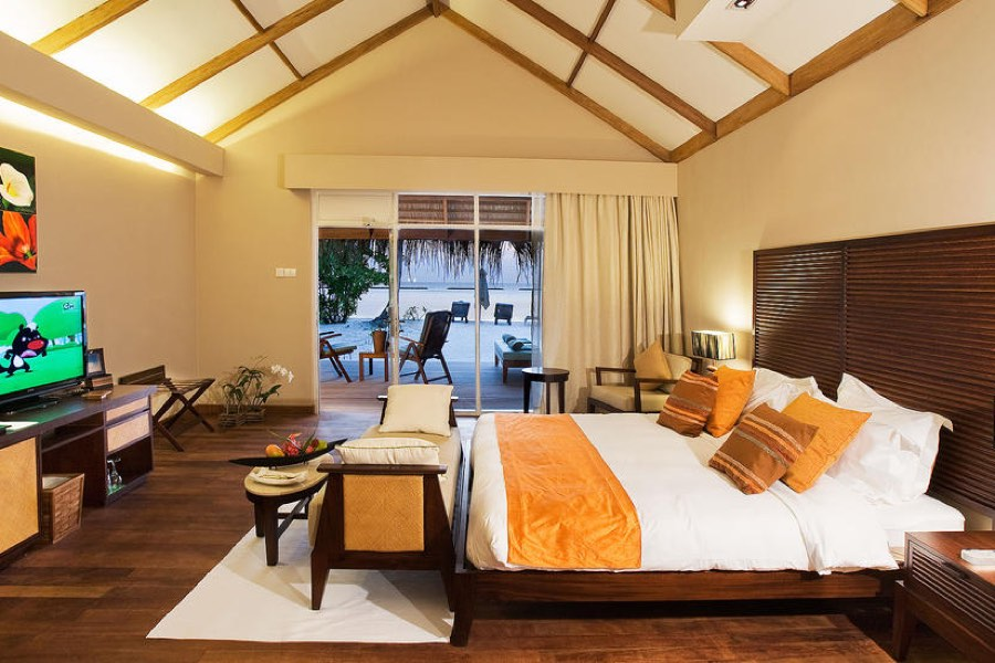 Resort Maldive Vakarufalhi beach villa