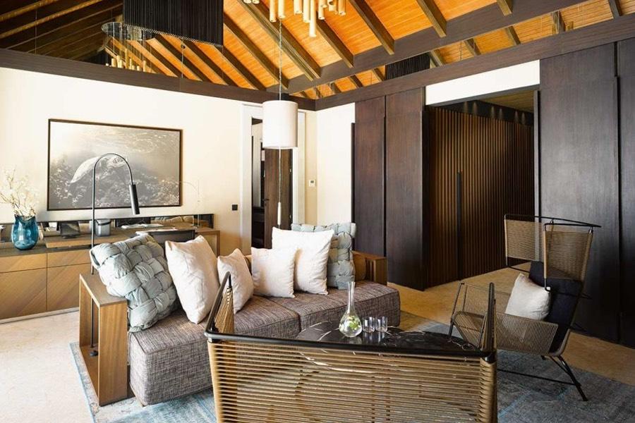 Resort Maldive Velaa Private Island beach pool house