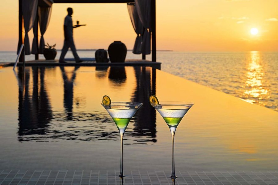 Resort Maldive Velaa Private Island ocean pool house