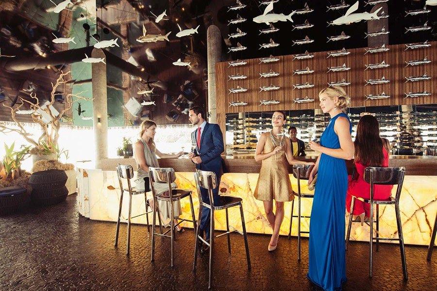 Resort Maldive Velaa Private Island wine lounge bar Cru Champagne bar