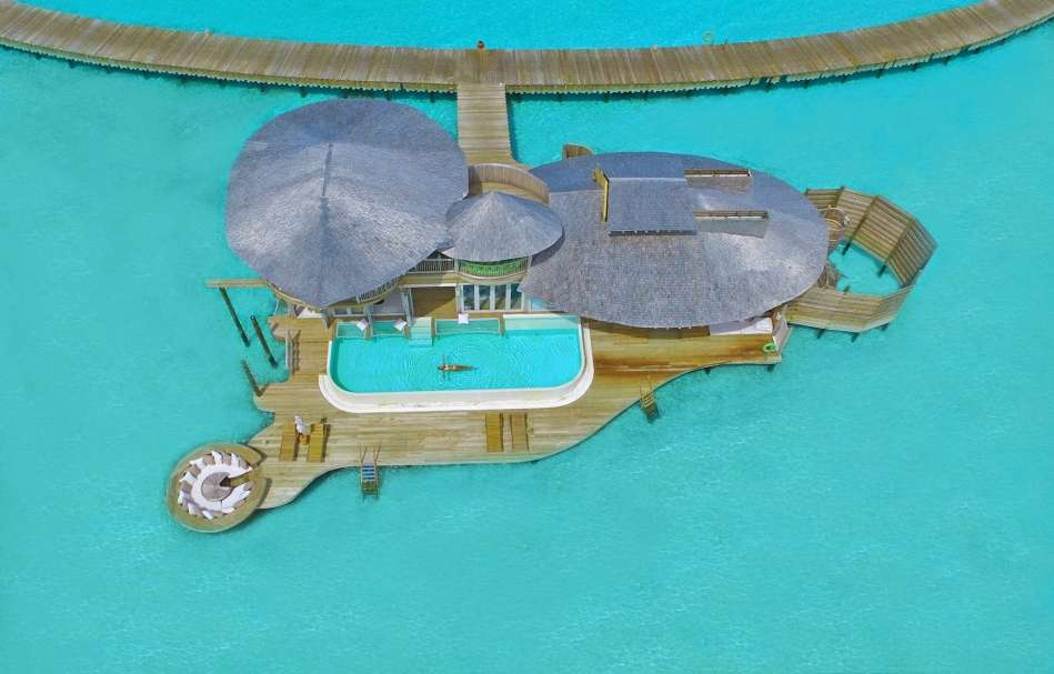 Resort Maldive Soneva Jani two bedroom  water retreat
