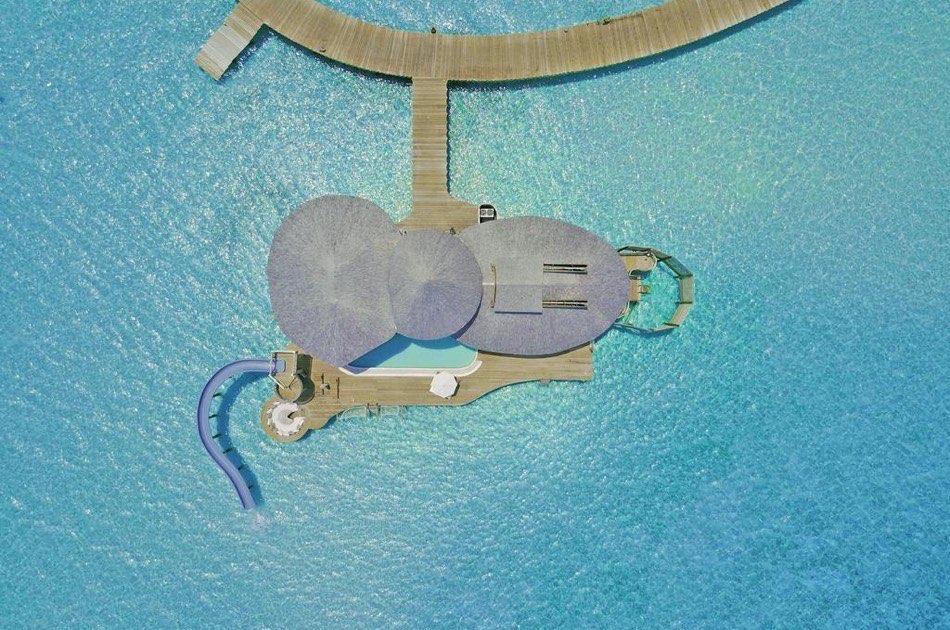 Resort Maldive Soneva Jani three bedroom water reserve