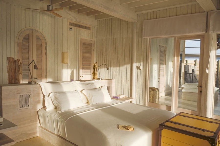 Resort Maldive Soneva Jani four bedroom water reserve